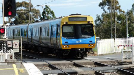 The Comeng Train Melbourne.
