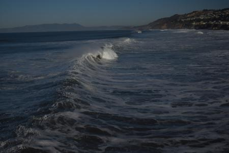 The Crashing Waves of Pacifica Pier