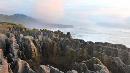 The Pancake Rocks Punakaiki. NZ