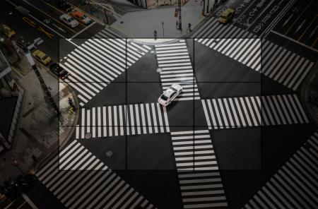 Through the Lens - The Urban Landscape - Rule of Thirds - Tokyo