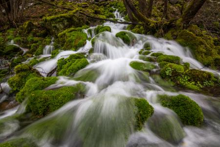 Time-lapse Photography of Water Fall