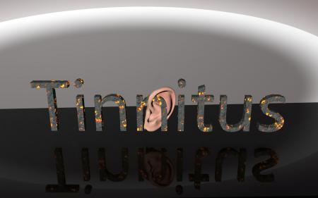 Tinnitus - Ear Pain 3D Text