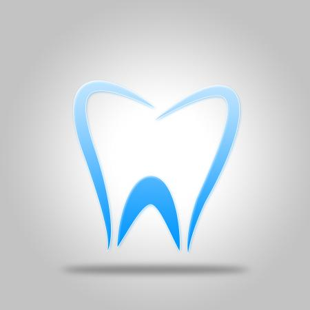 Tooth Icon Shows Dentist Icons And Dentistry