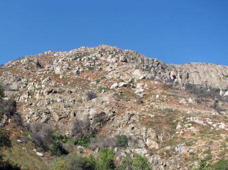 Top of Sierra Foothills