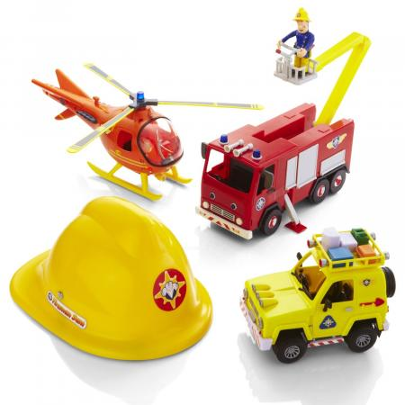 Toy fireman