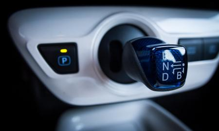Toyota Prius gear shift
