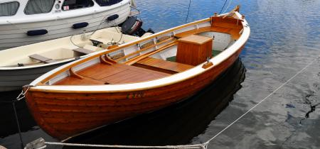 Traditional Norwegian pine cruiser