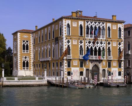 Traditional Venetian facade
