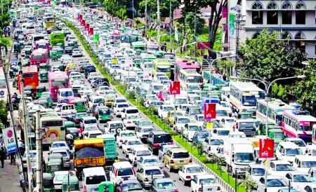 Traffic in Saudi