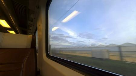Train Window view