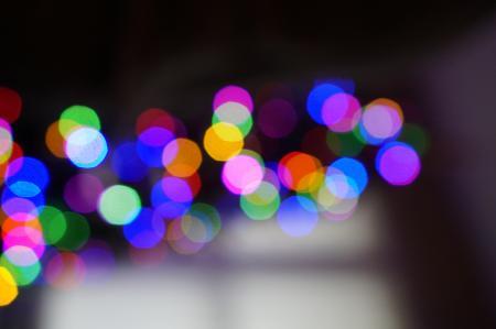 Tree Bokeh Lights