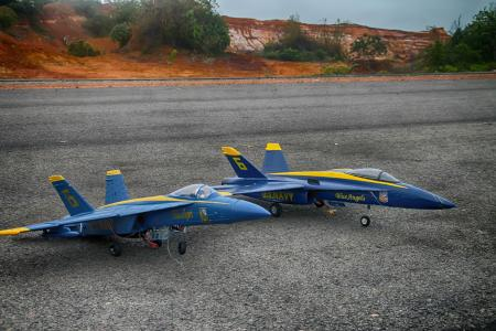 Twin F 18 Hornet Model Airplanes