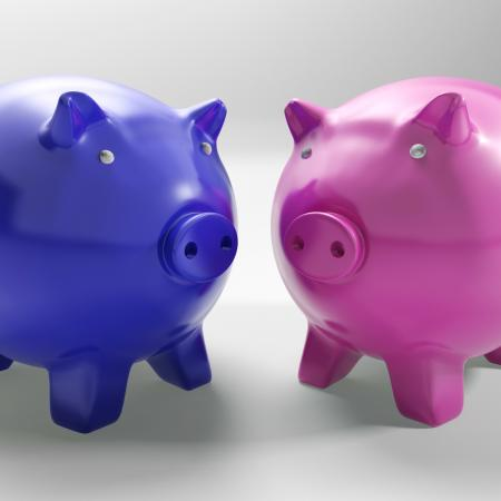 Two Pigs Shows Mirror Exchange And Wealth