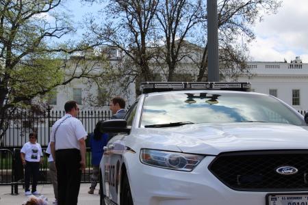 US Secret Service Uniformed Division Ford Taurus/Police Interceptor at White House