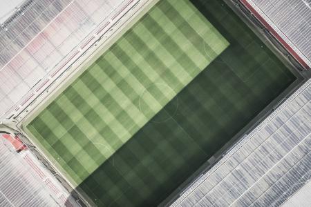 Vacant Football Stadium