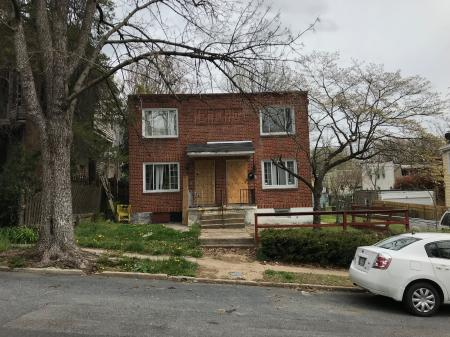 Vacant houses, 710–712 Homestead Street, Baltimore, MD 21218