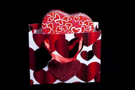 Valentines Bag and Gift box