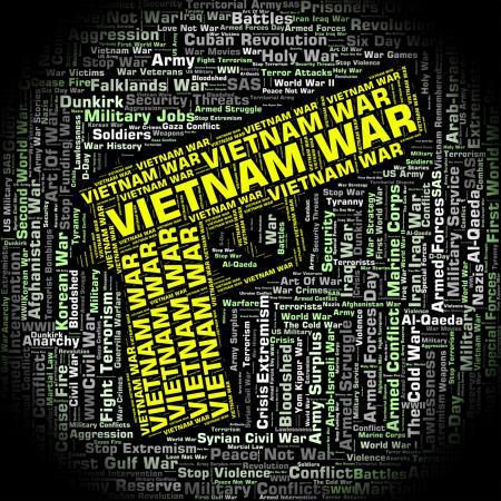 Vietnam War Represents North Vietnamese Army And Combat