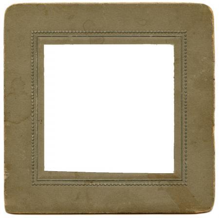 Vintage Cardboard Frame
