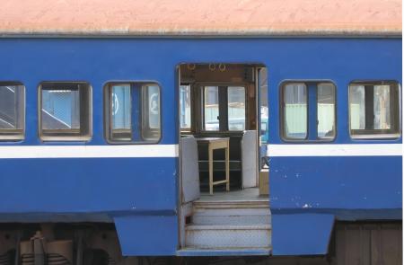 Vintage Train Carrriage
