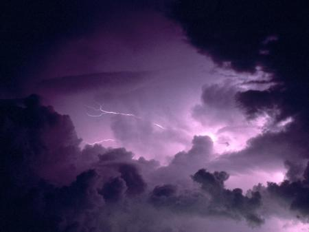 Violent Storm Clouds