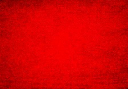 Vivid Rough Grunge Red Background