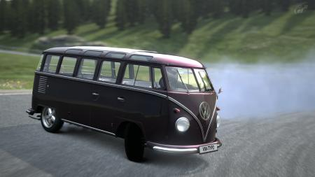VW TYP2 Samba (drift) bus.
