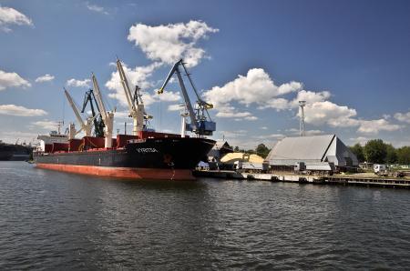 Vyritsa cargo Ship, Gdansk, Poland