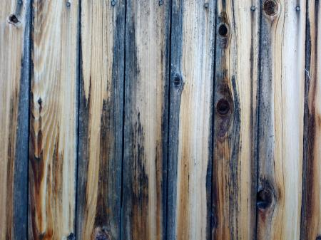 Weathered wood slats