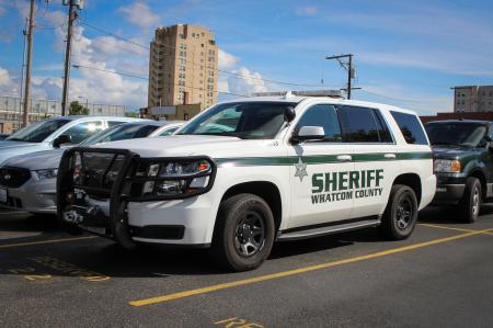 Whatcom Sheriff 2015 Chevrolet Tahoe (6233)