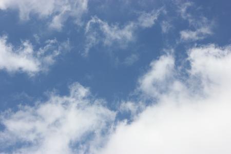 White Clouds Blue Sky