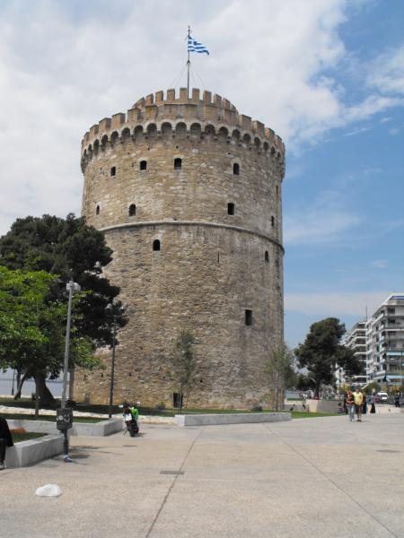 White tower in Salonica