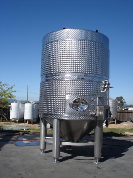 Wine Processing Tanks