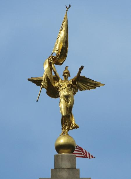 Winged Victory 1st Army Division Monumen
