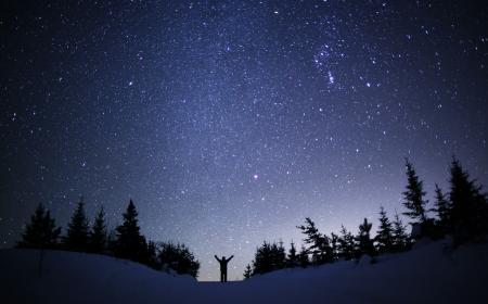 Winter Nightsky