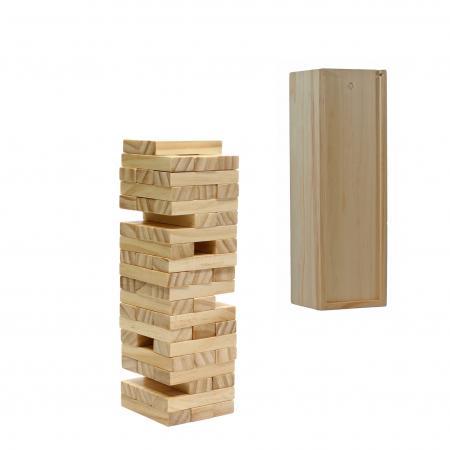 Wood Block Tower