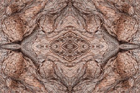 Wood Diamond Panel