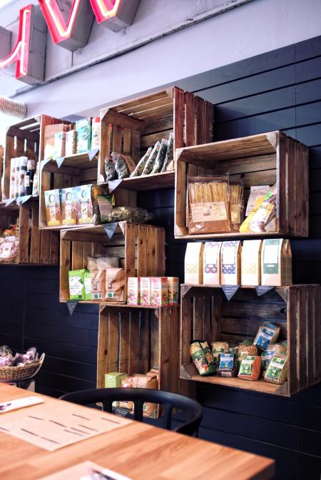 Wooden boxes - eco market