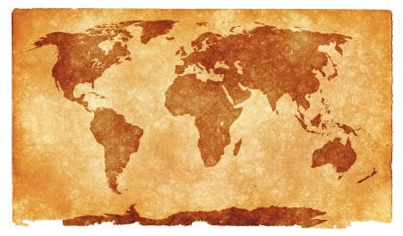 World Grunge Map