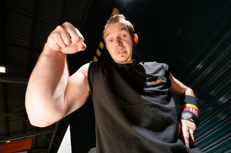 Wrestler arm