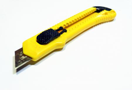 Yellow Box cutter