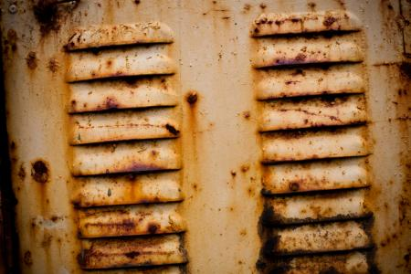 Yellow Corroded Metal Texture