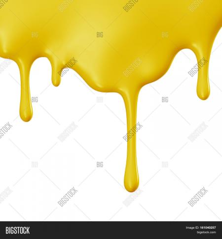 Yellow dripping
