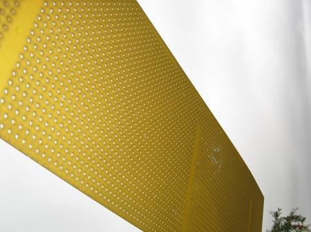 Yellow Plastic Board