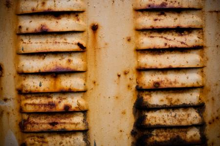 Yellow Rusted Metal Texture