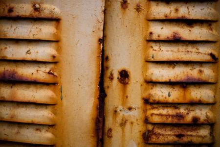 Yellow Rusted Metal