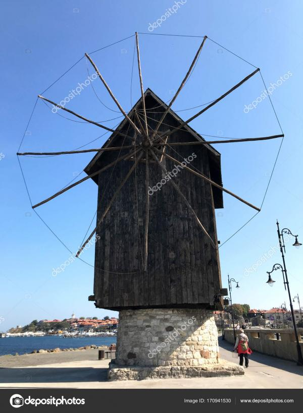Windmill in Town