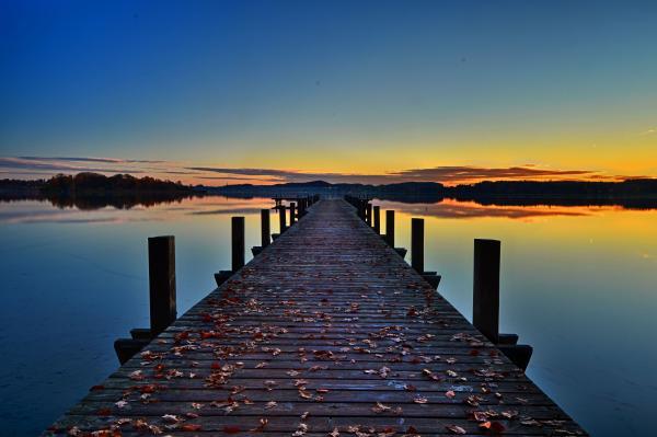 Brown Wooden Dock