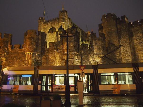Castle in Ghent, Belgium