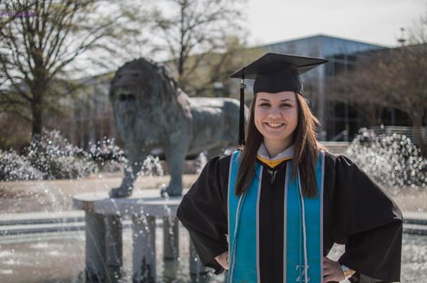 Gina Gordy Graduates From ODU